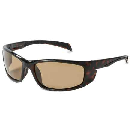 Coyote Eyewear Volt Sunglasses - Polarized in Brown/Brown - Closeouts
