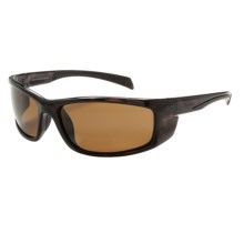 Coyote Eyewear Volt Sunglasses - Polarized in Tortise/Brown - Closeouts