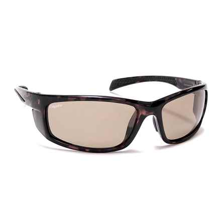 Coyote Eyewear Volt Sunglasses - Polarized in Tortoise/Brown - Closeouts
