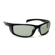 Coyote Eyewear Volt Sunglasses - Polarized, Photochromic Lenses in Black/Gray - Closeouts