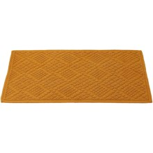 Coyuchi Air Weight Bath Rug - Organic Cotton in Mustard - Closeouts