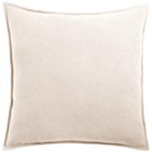 Coyuchi Honeycomb Organic Cotton Pillow Sham - Euro in Ivory - Closeouts