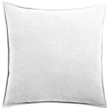 Coyuchi Honeycomb Organic Cotton Pillow Sham - Euro in White - Closeouts