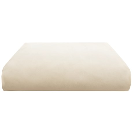 Coyuchi Organic Cotton Percale Flat Sheet King, 300 TC