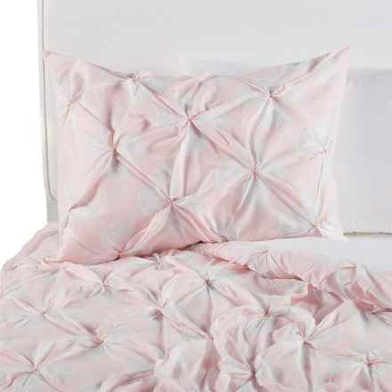 Coyuchi Pansy Organic Cotton Duvet Set - Twin in Peony - Closeouts