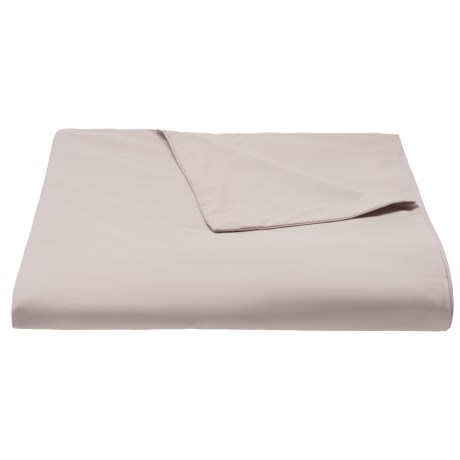 Coyuchi Petal Organic Sateen Duvet Cover - King, 300 TC in Petal