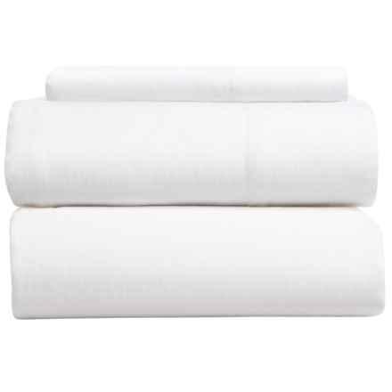Coyuchi Relaxed Linen Sheet Set - Twin in Alpine White - Closeouts