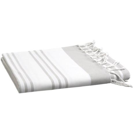 Image of Coyuchi Sutro Stripe Coverlet - Full-Queen, Organic Cotton