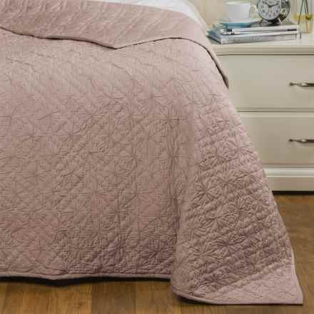 Coyuchi Twilight Quilt - Organic Cotton, Twin in Mushroom - Closeouts