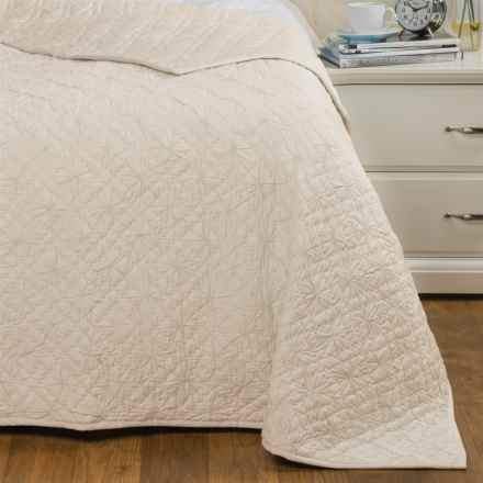 Coyuchi Twilight Quilt - Organic Cotton, Twin in Natural - Closeouts