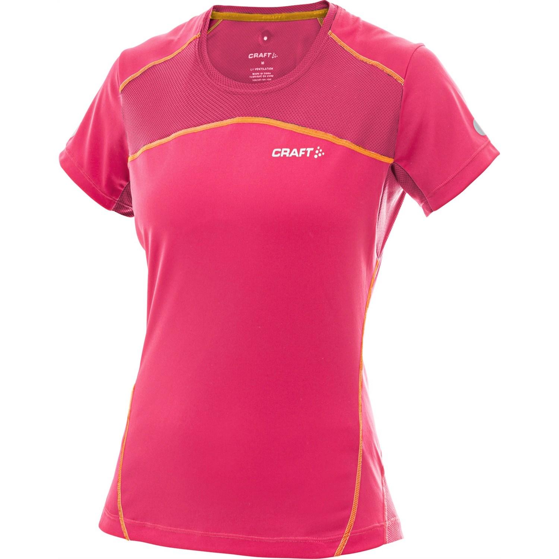 Craft of sweden high performance run t shirt short for Craft women s run