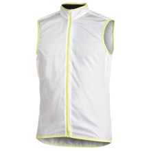 Craft of Sweden Performance Bike Featherlight Vest (For Men) in White/Yellow - Closeouts