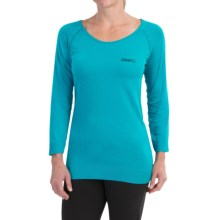 Craft Seamless Touch Shirt - 3/4 Sleeve (For Women) in Resort - Closeouts