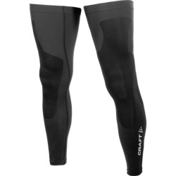 Craft Sportswear 3D Leg Warmers (For Men and Women) in Black