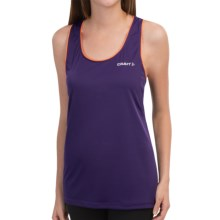Craft Sportswear Basic Tank Top (For Women) in Dynasty/Flourange - Closeouts