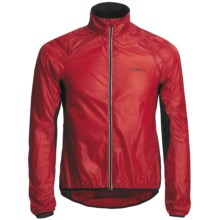 Craft Sportswear Bike Light Cycling Jacket (For Men) in Bright Red/Black - Closeouts
