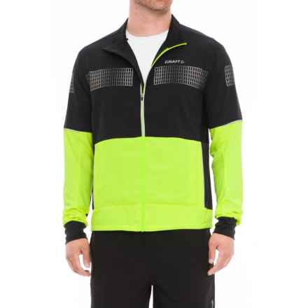 Craft Sportswear Brilliant 2.0 Light Jacket (For Men) in 2851 Flumino/Black - Closeouts