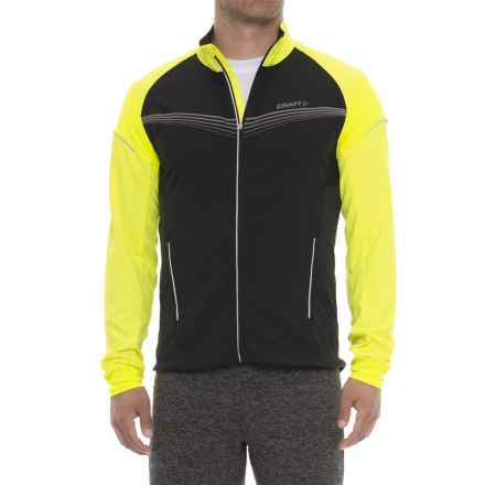 Craft Sportswear Brilliant Light Jacket (For Men) in Black/Flumino - Closeouts