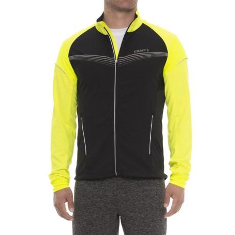 Craft Sportswear Brilliant Light Jacket (For Men) in Black/Flumino