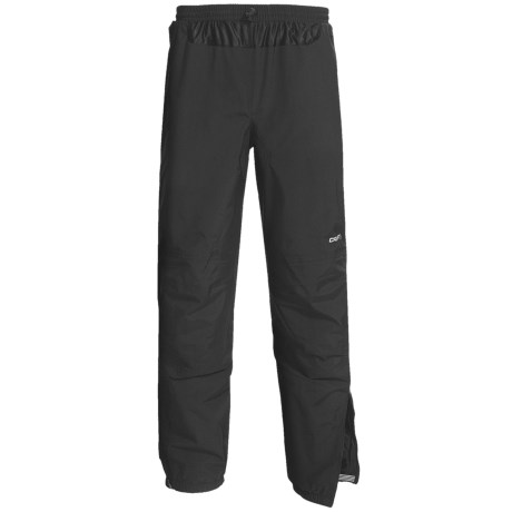 Craft Sportswear Bullet Rain Pants (For Men) in Black
