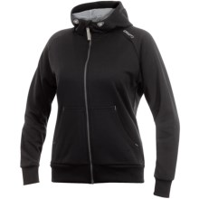 Craft Sportswear Flex Hoodie Sweatshirt - Full Zip (For Women) in Black - Closeouts