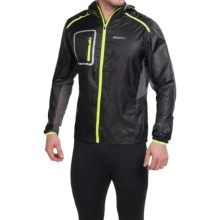 Craft Sportswear Focus Hood Jacket (For Men) in Asphalt - Closeouts