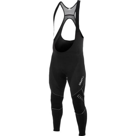 Craft Sportswear High-Performance Bike Thermal Bib Long Tights (For Men) in Black