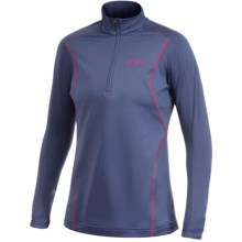 Craft Sportswear High-Performance Lightweight Stretch Pullover - Zip Neck, Long Sleeve (For Women) in Thunder - Closeouts