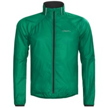 Craft Sportswear High-Performance Run Featherlight Jacket (For Men) in Alp Green - Closeouts