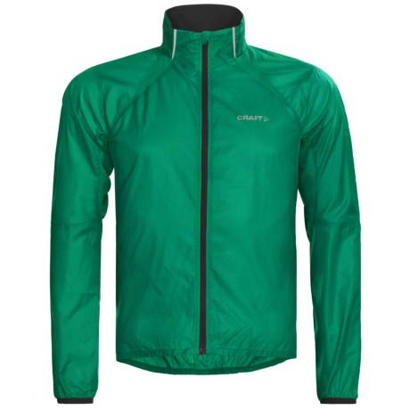 Craft Sportswear High-Performance Run Featherlight Jacket (For Men) in Alp Green
