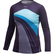 Craft Sportswear High-Performance Run T-Shirt - Long Sleeve (For Women) in Blackberry - Closeouts