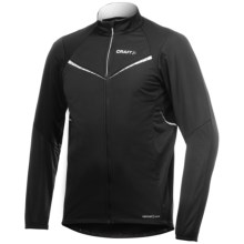 Craft Sportswear High-Performance Storm Cycling Jacket - Windproof, Insulated (For Men) in Black - Closeouts
