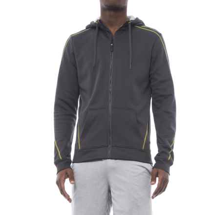 Craft Sportswear In the Zone Hoodie - Zip Front (For Men) in Asphalt - Closeouts