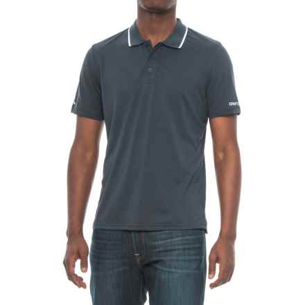 Craft Sportswear In the Zone Polo Shirt - Short Sleeve (For Men) in Navy - Closeouts