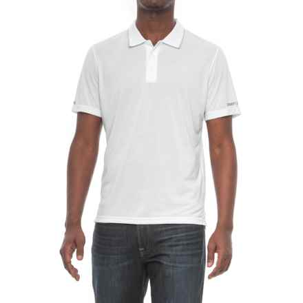 Craft Sportswear In the Zone Polo Shirt - Short Sleeve (For Men) in White - Closeouts
