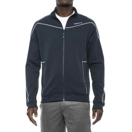 Craft Sportswear In the Zone Sweatshirt (For Men) in Navy - Closeouts