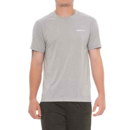 Craft Sportswear In the Zone T-Shirt - Short Sleeve (For Men) in 1950/2950 Grey Melange - Closeouts