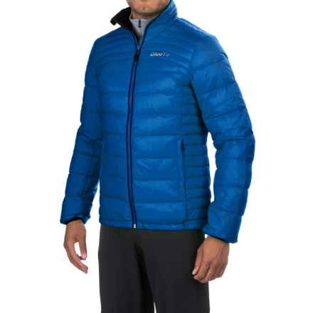 Craft Sportswear Light Down Jacket - Insulated (For Men) in Sweden Blue - Closeouts
