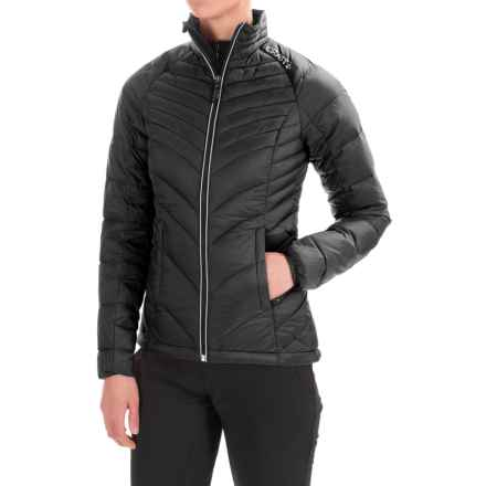 Craft Sportswear Light Down Jacket - Insulated (For Women) in Black/Platinum - Closeouts