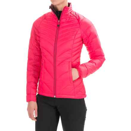 Craft Sportswear Light Down Jacket - Insulated (For Women) in Hibiscus - Closeouts