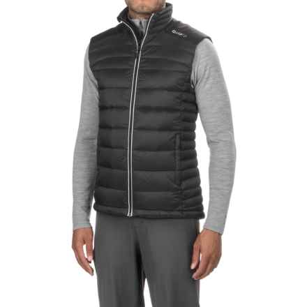 Craft Sportswear Light Down Vest (For Men) in Black/Platinum - Closeouts