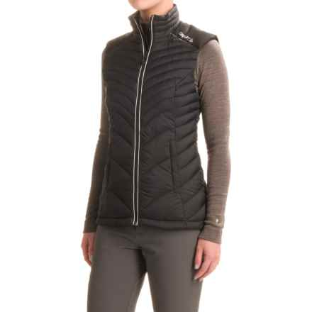 Craft Sportswear Light Down Vest (For Women) in Black/Platinum - Closeouts