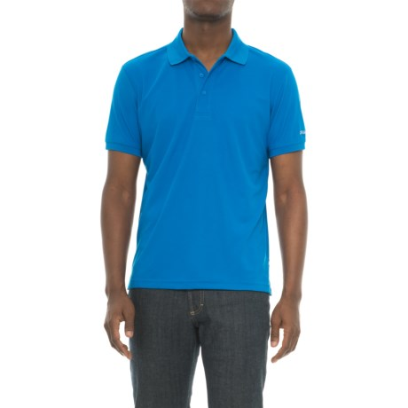 Craft Sportswear Off the Field Classic Polo Shirt- Short Sleeve (For Men) in Sweden Blue