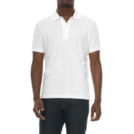 Craft Sportswear Off the Field Classic Polo Shirt- Short Sleeve (For Men) in White - Closeouts