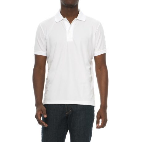 Craft Sportswear Off the Field Classic Polo Shirt- Short Sleeve (For Men) in White