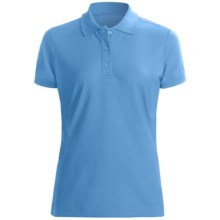 Craft Sportswear Off the Field Polo Shirt - Short Sleeve (For Women) in Aqua - Closeouts