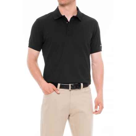 Craft Sportswear Pique Golf Polo Shirt (For Men) in Black - Closeouts
