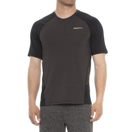 Craft Sportswear Precise T-Shirt - Short Sleeve (For Men) in Black