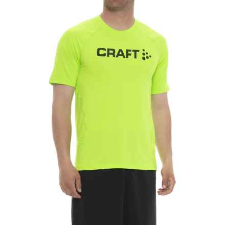 Craft Sportswear Precise T-Shirt - Short Sleeve (For Men) in Gecko - Closeouts
