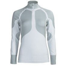 Craft Sportswear Pro Warm Base Layer Top - Lightweight, Zip Neck, Long Sleeve (For Women) in White - Closeouts